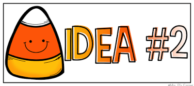 The Candy Corn Contest is a beginner chapter book, perfect for any elementary classroom. It's an ideal entry point for getting excited about Halloween, as well as academic tasks like estimation and reading in the library. Includes a free book companion. Blog post at Mrs. D's Corner.