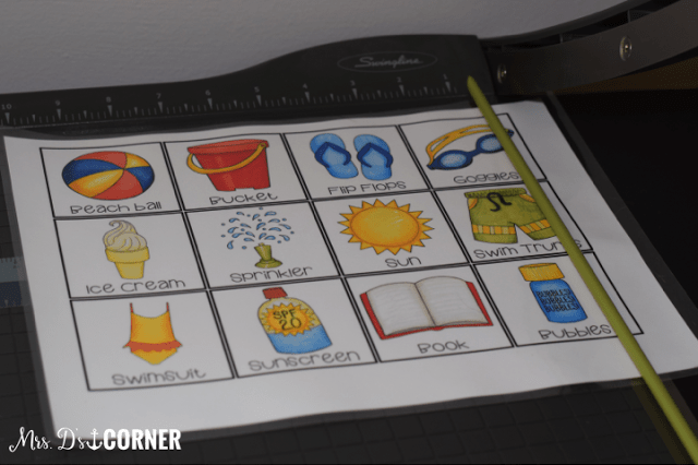 Diy summer match card game with a freebie mrs ds corner do it yourself match card game picture how to blog post helping you keep your solutioingenieria Gallery
