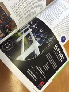 Magazine Advertising Design