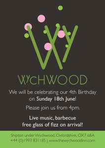Wychwood Inn birthday Invite