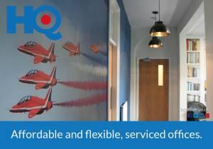 HQ Offices Social Media Ad