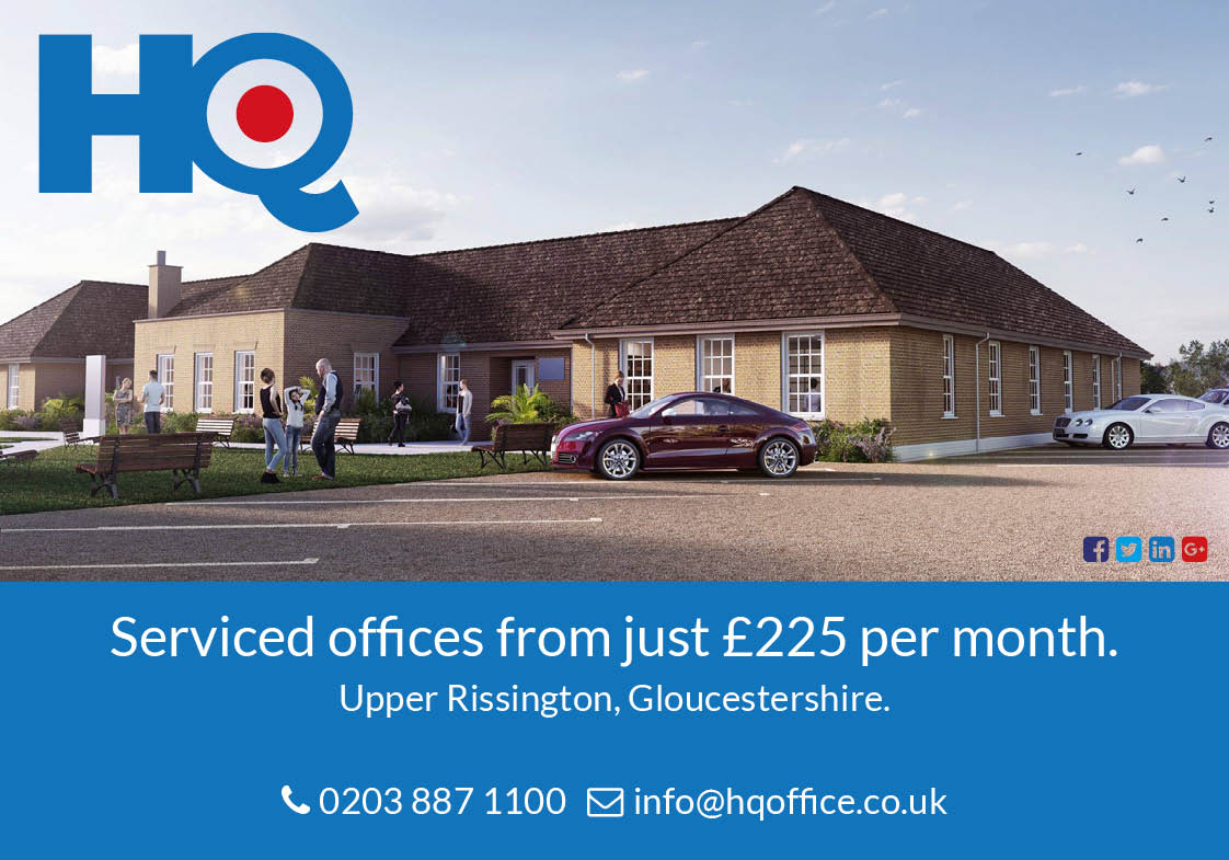 HQ Offices Advert Design