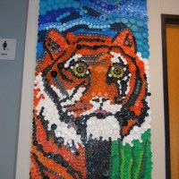 Bottle Cap Projects:  One Done,  One To Go!!