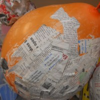 Paper Mache...Oh What a mess!!