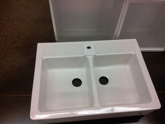 Deals and Steals!     Ikea Domsjo sink for only $90!!!     Mrs. Fancee