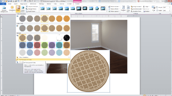 room layout in word and paint 5png