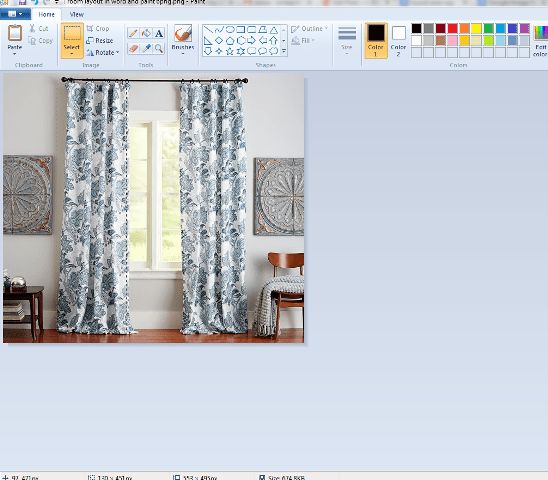 room layout in word and paint 7png