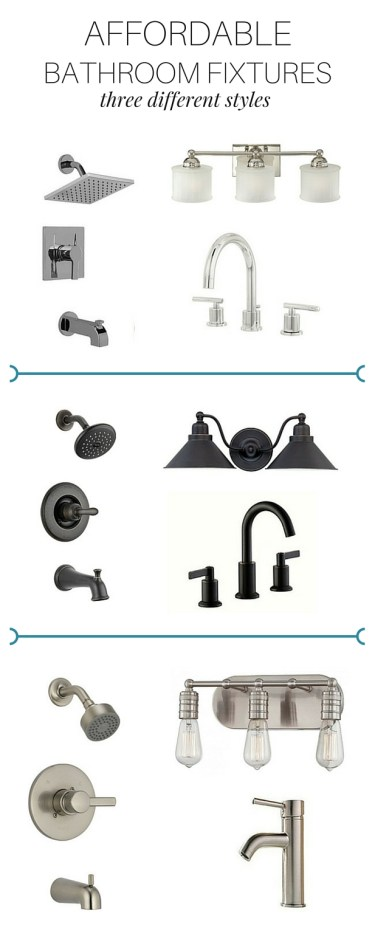 Affordable Bathroom Fixtures