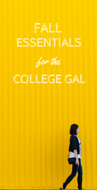 What every college girl needs this fall | Mrs. Fancee