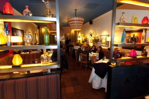 Celebrity chef Rick Bayless' Topolobampo Mexican restaurant in Chicago