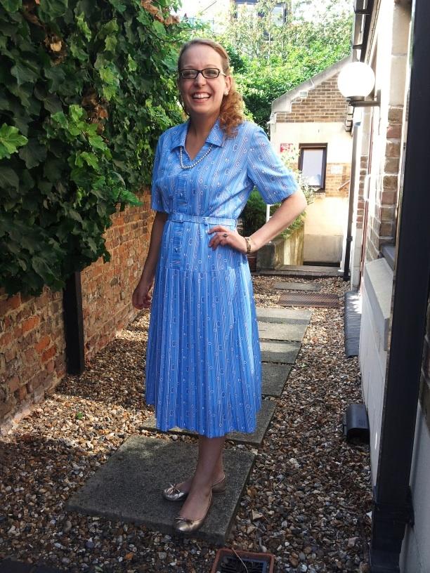 Mrs Fox's new Granny dress