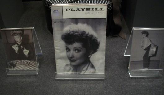 Lucille Ball on Playbill