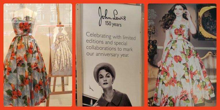 1950s dresses from John Lewis