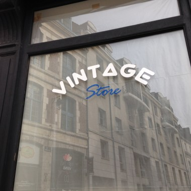 Closed vintage shop