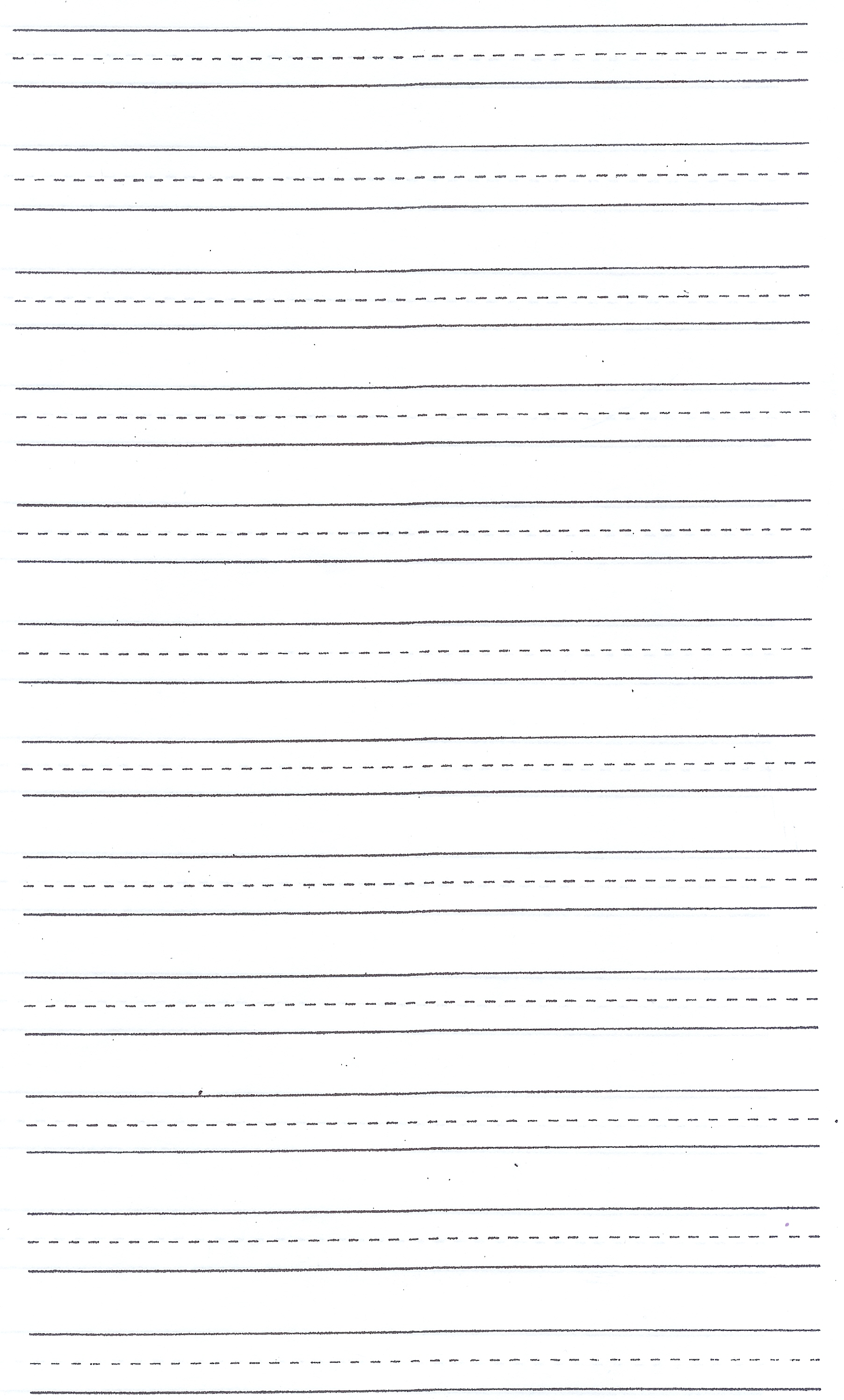 Blank Writing Sheets Document