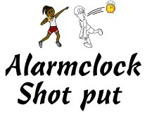Alarmclock Shot Put
