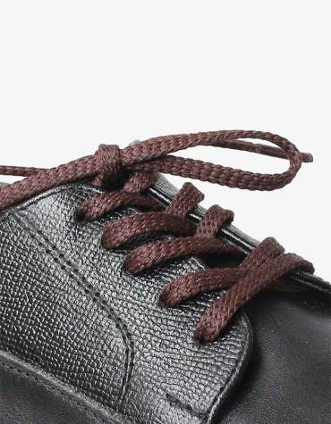 tali-sepatu-lilin-mrshoelaces-thin-flat-hijiki-dark-brown