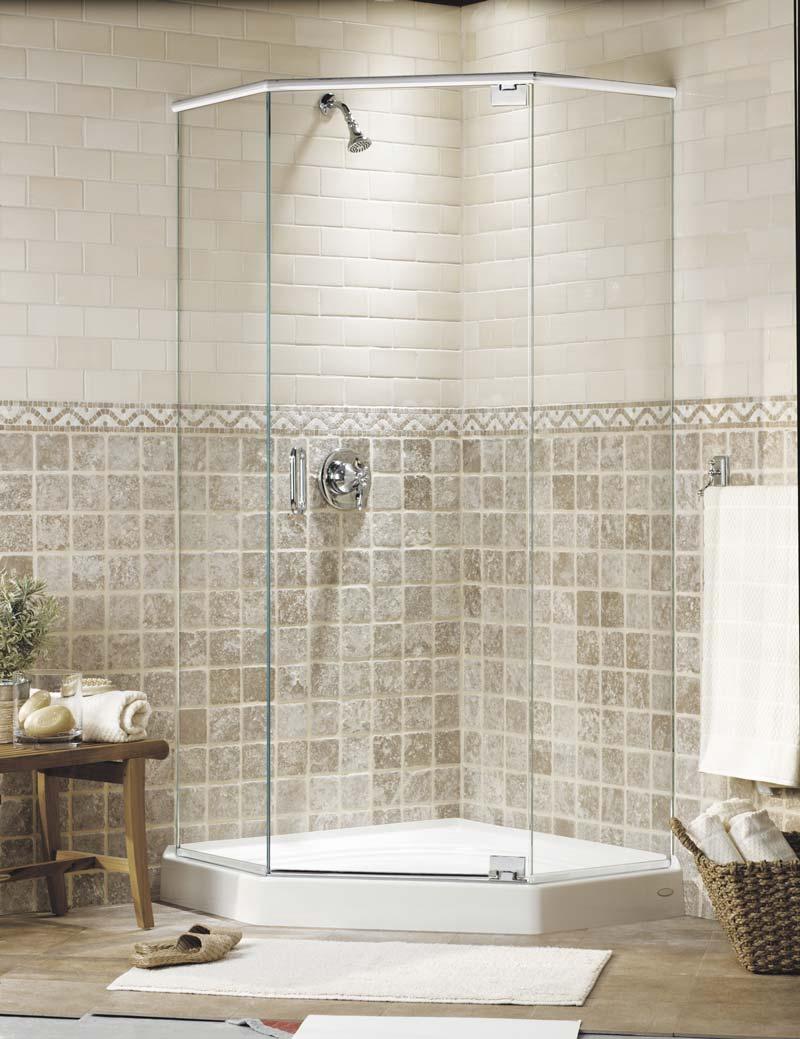 Series 30 Neo Angle Frameless Shower Enclosures Mr Shower