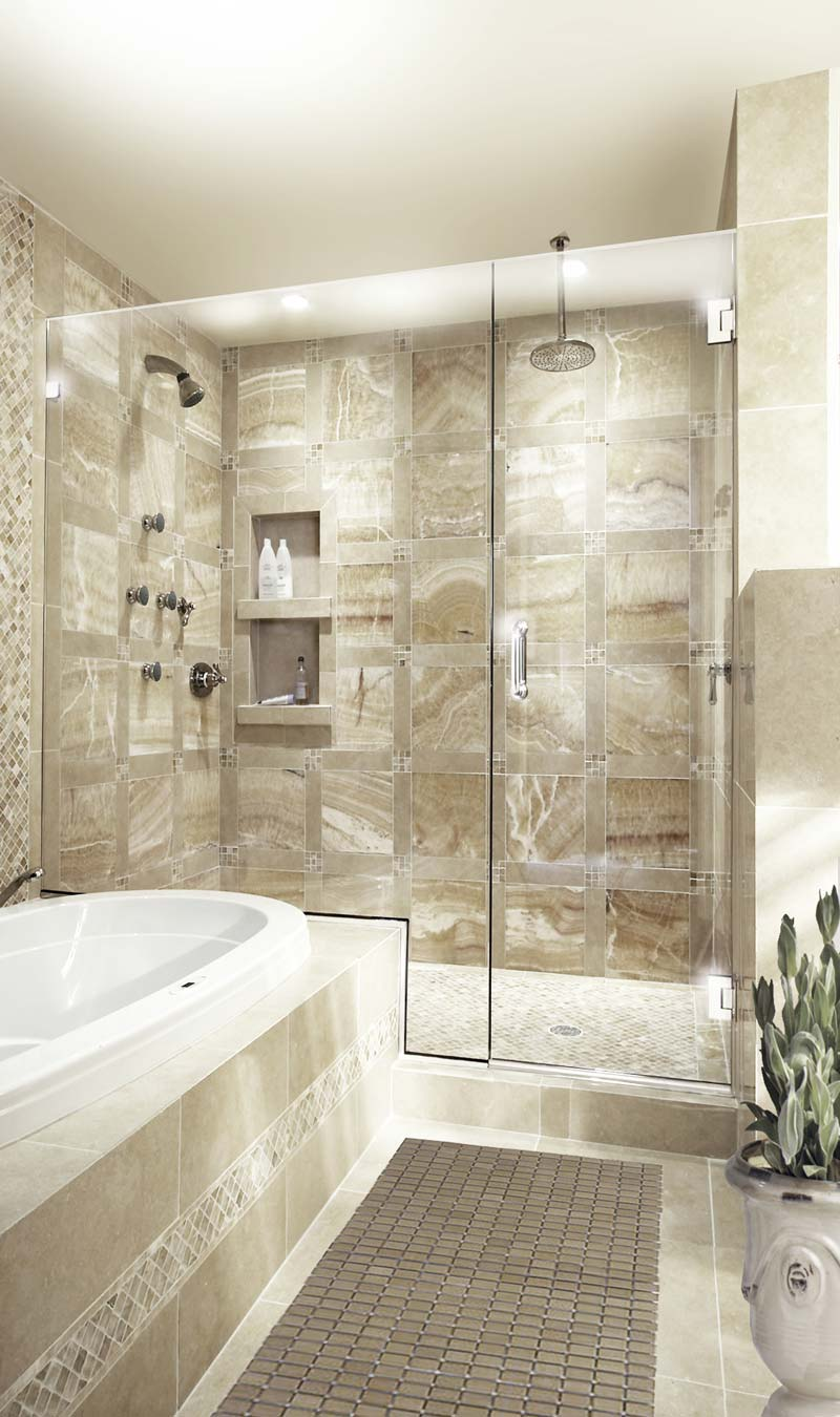 Series 20 Frameless Shower Enclosures With No Top Header