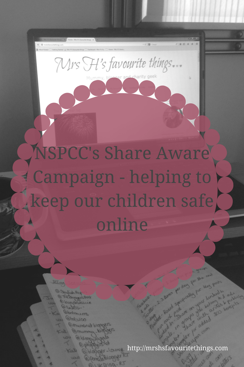 NSPCC's Share Aware campaign