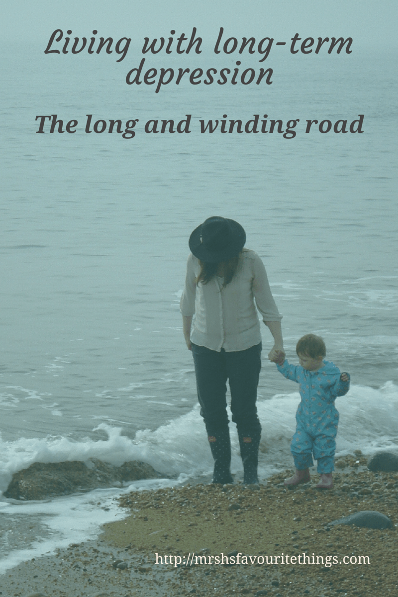 Living with long-term depression_the long and winding road_Mrs H's favourite things_blog image