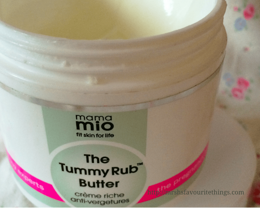 A product from my bump skincare routine for pregnant and sensitive skin - Mama Mio The Tummy Rub Butter - Pregnancy skincare for sensitive skin - tips, products and routines _ Mrs H's favourite things