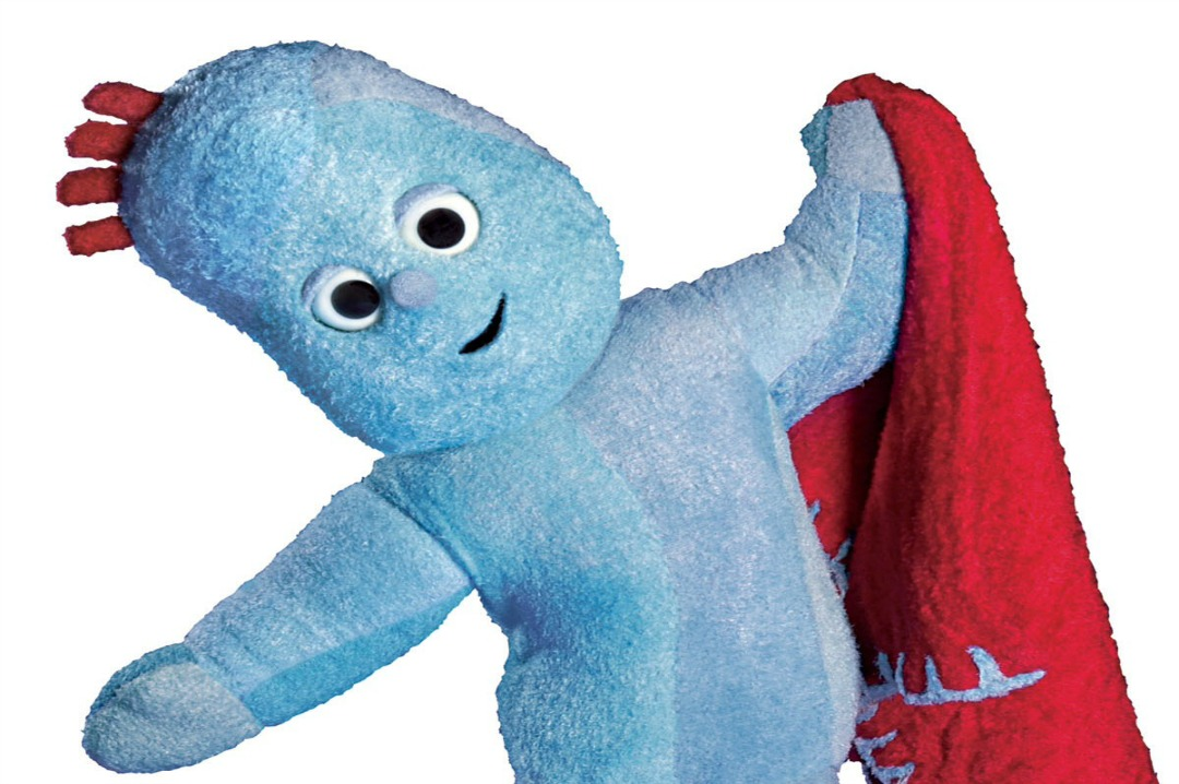A photograph of the character IgglePiggle from the children's TV programme In the Night Garden - Win tickets to In the Night Garden Live - Mrs H's favourite things