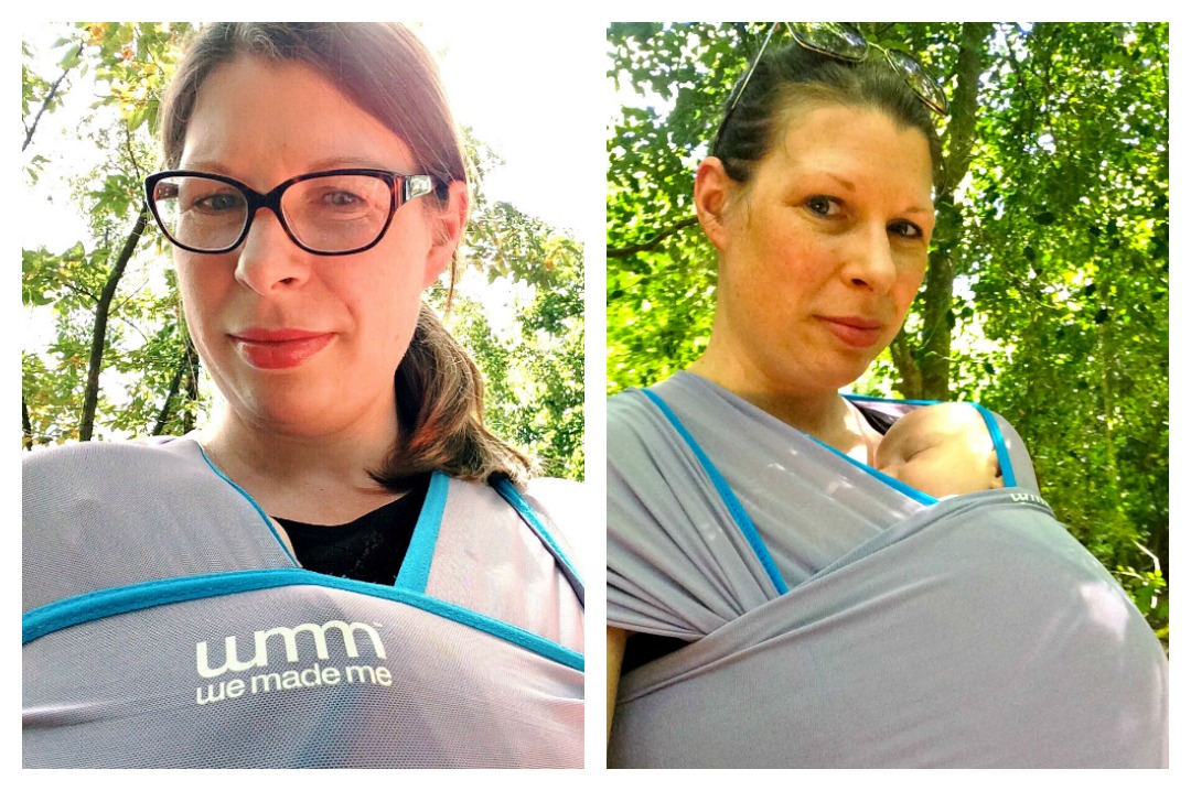 Babywearing love - a review of the Wuti Wrap by We Made Me