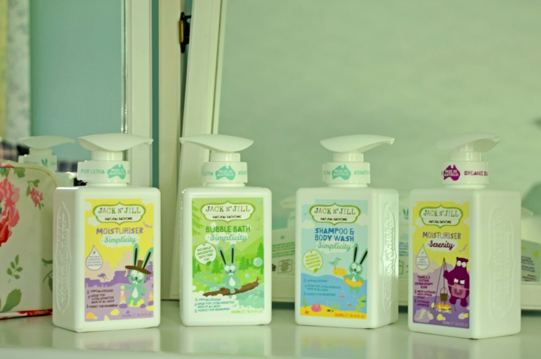 Jack N' Jill's New 'Natural Bathtime' Range - A Review and Giveaway