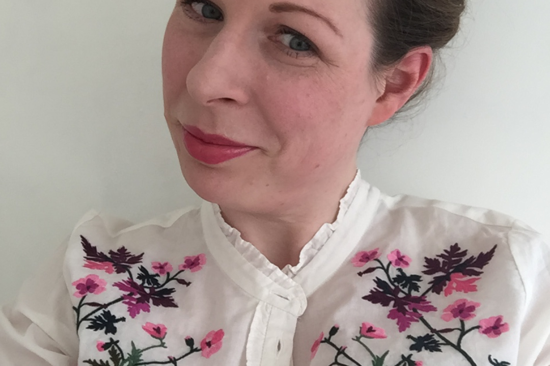 A photograph of a woman wearing a summery blouse - 5 Tips To Take The Stress Out Of Summer Fashion Choices - Mrs H's favourite things