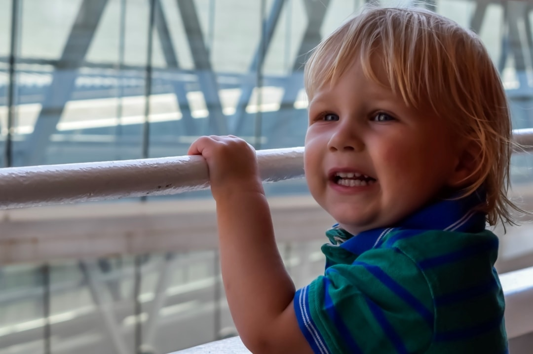 A photograph of a little boy on board the Royal Caribbean cruise ship, Independence of the Seas - 10 Reasons Why A Royal Caribbean Cruise Would Make the Perfect Family Holiday - Mrs H's favourite things