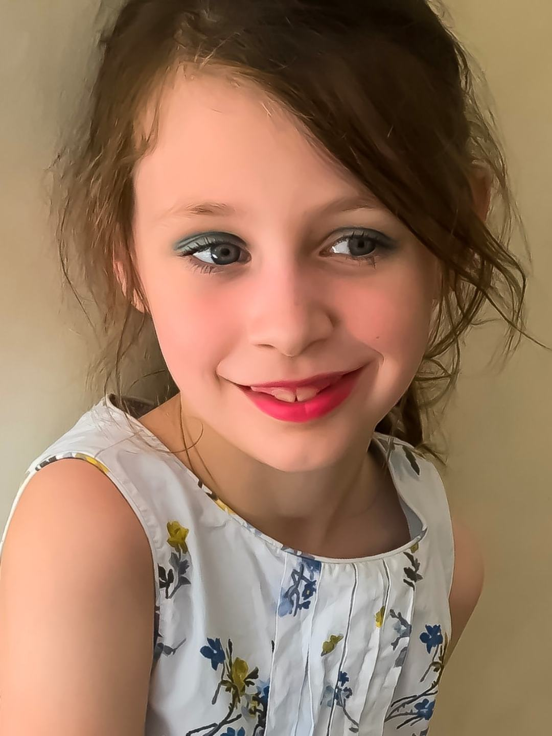 A photograph of a beautiful little girl - A Family Update - Mrs H's favourite things
