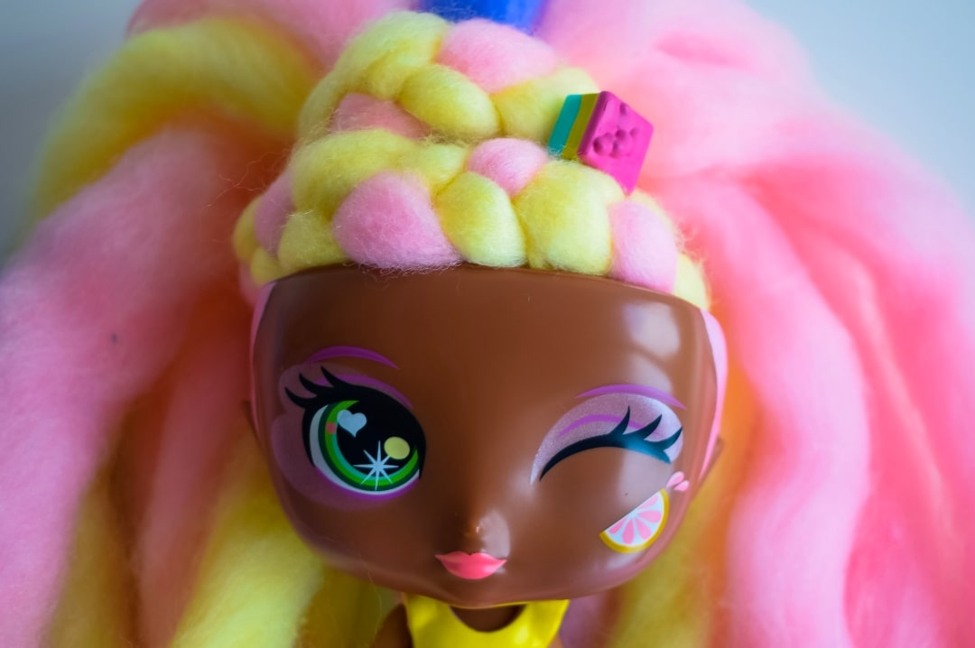 A photograph of Lacey Lemonade, a Candylocks Doll - Introducing Candylocks Dolls - A Review - Mrs H's favourite things