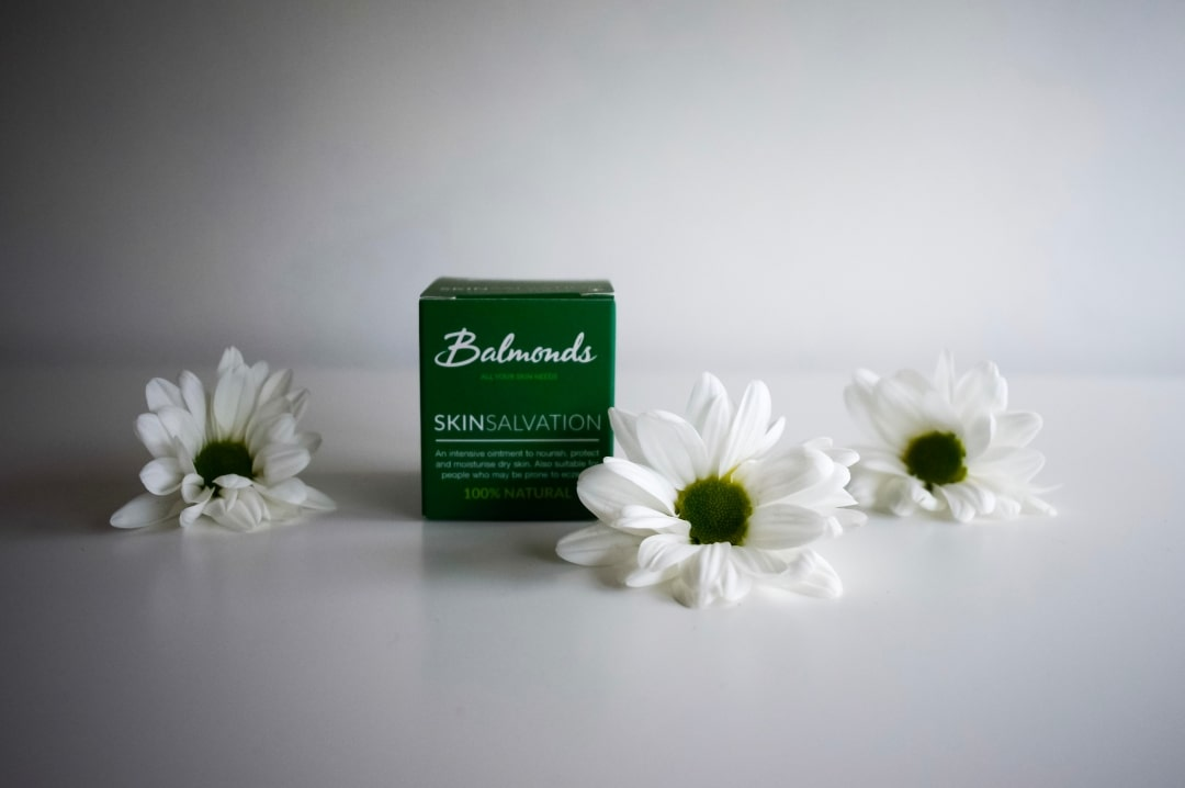 A photograph of Balmonds Skin Salvation - Dealing With Eczema and Sensitive Skin With Balmonds - Mrs H's favourite things