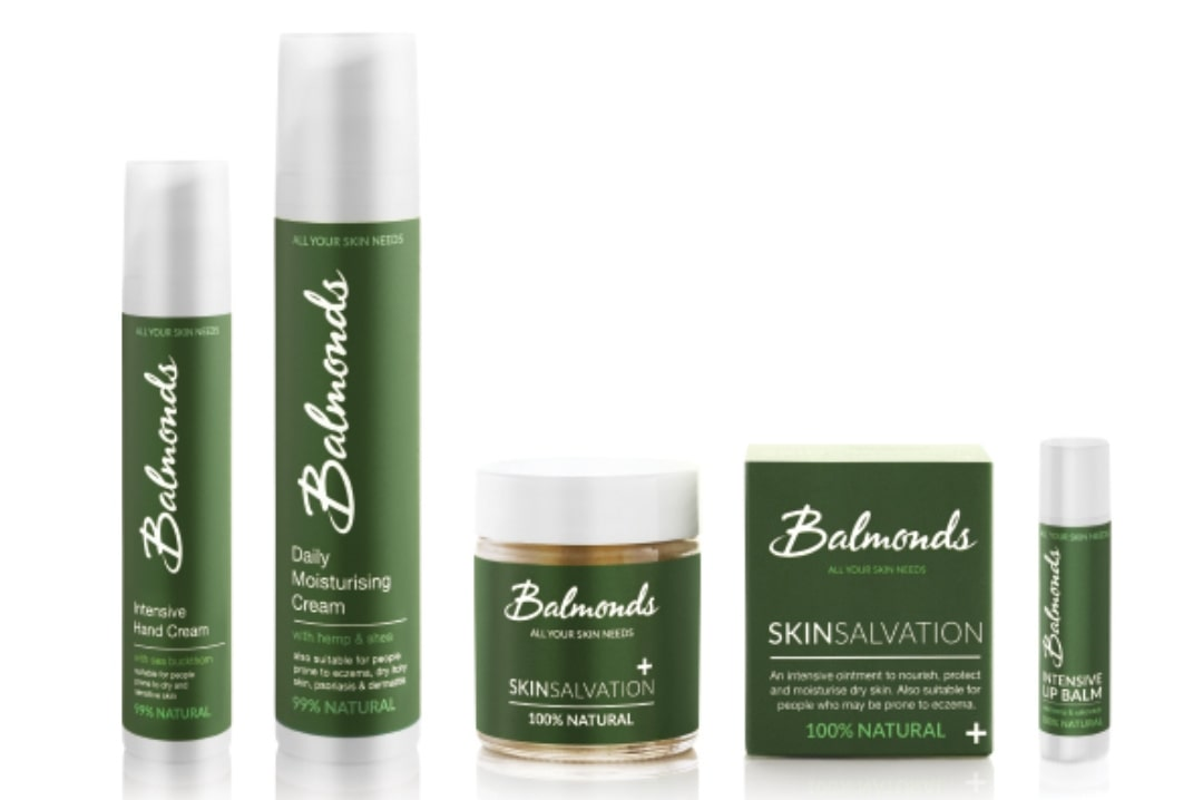 A photograph of the Balmonds Winter Skin Survival Kit - Dealing With Eczema and Sensitive Skin With Balmonds - Mrs H's favourite things