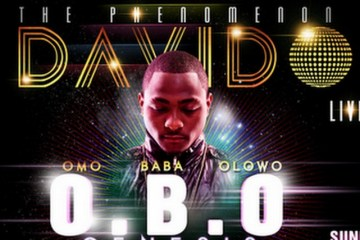 Davido concert at Eko Hotel July 2012