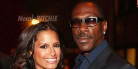 Eddie Murphy and Rocsi