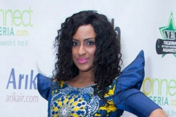 Juliet Ibrahim at NEA Awards 2012