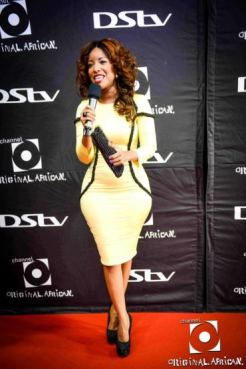 Jocelyn Dumas at channel o music video awards 2012