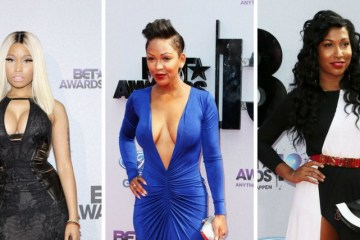 2013 BET Awards best dressed ladies