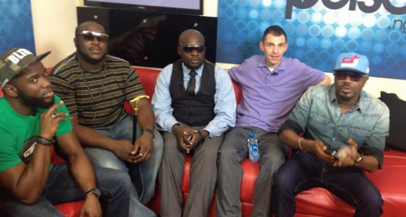 MH PHOTOS: PULSE NIGERIA WORLD PRESS CONFERENCE WITH TIM WESTWOOD, DJ JIMMY JATT & ELAJOE