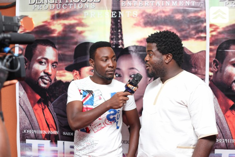 Aremu Afolayan at The Courier movie premiere