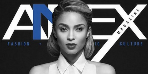 Ciara covers Annex Magazine