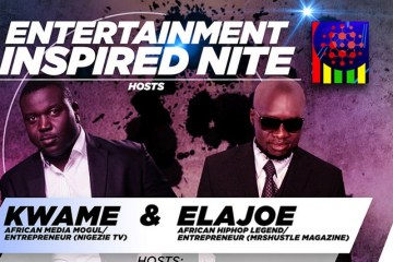 Entertainment Inspired Nite hosts Kwame and Elajoe
