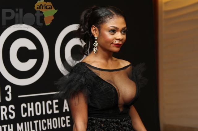 Karen Igho at AMVCA 2013