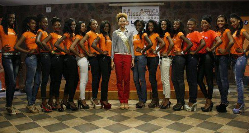 MH PHOTOS: MISS WEST AFRICA INTERNATIONAL 2013 PRESS CONFERENCE BEFORE THE GRAND FINALE