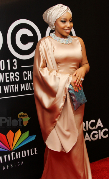 Rita Dominic at AMVCA 2013