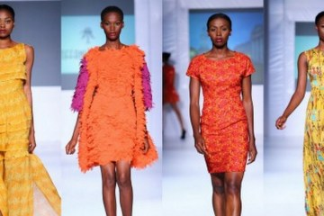 Tiffany Amber collection at LFDW 2012