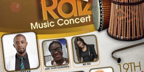 Baristar and friends in Praiz2Raiz music concert