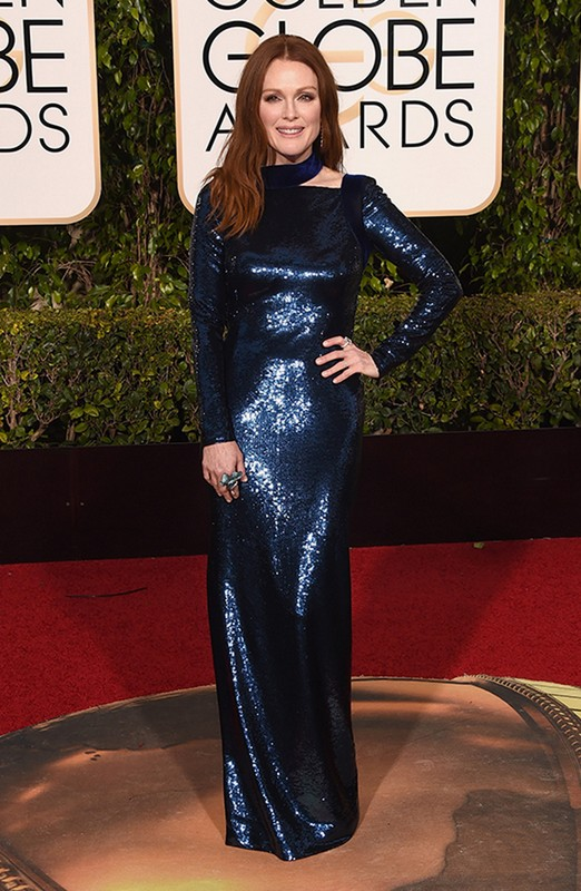 Julianne Moore at Golden Globe Awards 2016